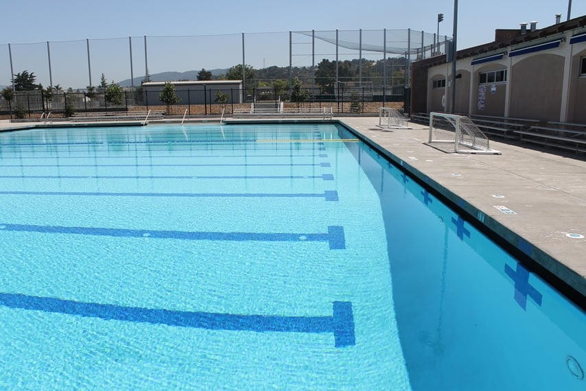 Pool Time At Monta Vista High School Outdoor Pool Will Resume Next Summer Enjoy Our Indoor Pool