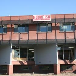 HookFish Branding logo