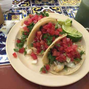EI Sazon Latino - Kissimmee, FL, United States. Fish Taco Platter