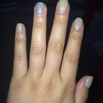 Gel manicure 10 days out. We can only wear neutral colors in nursing
