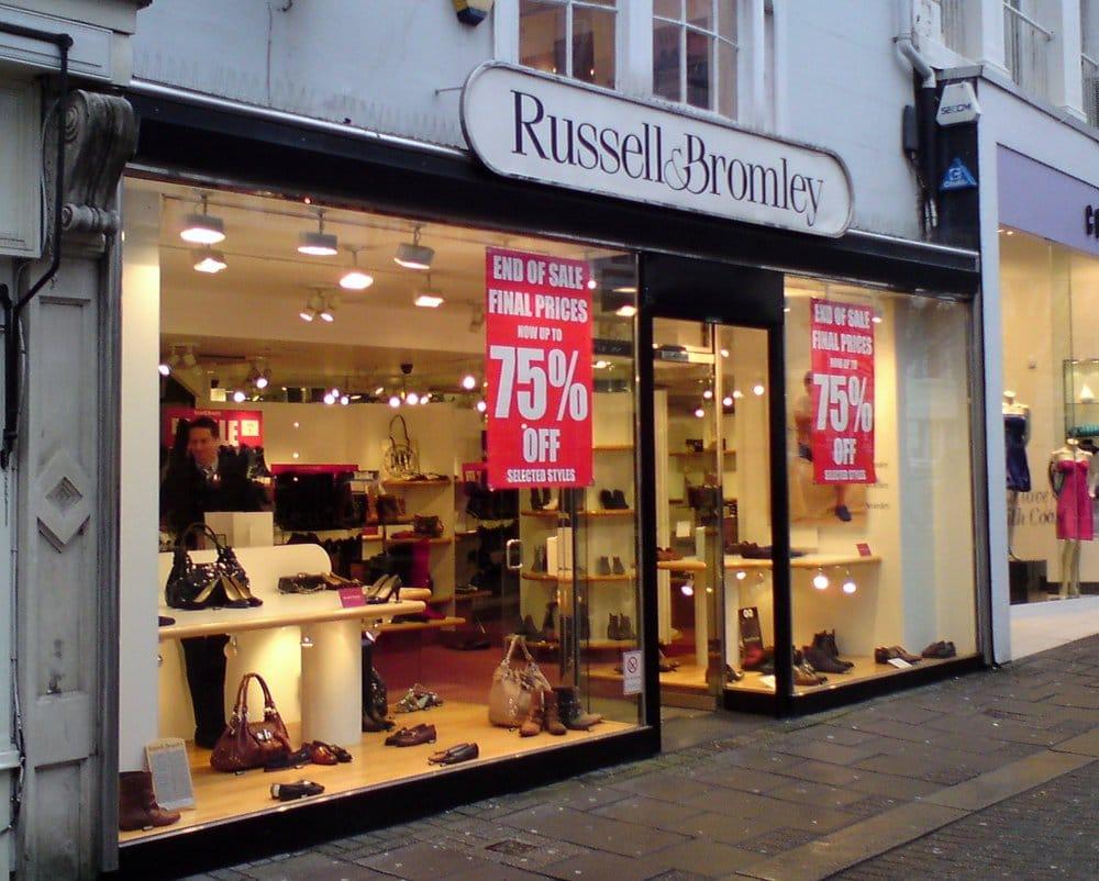 Www russellandbromley online shop