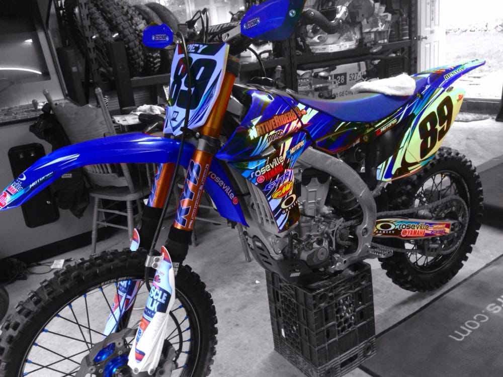Sweetest bike i ever owned bike parts an all purchased for Yamaha of roseville