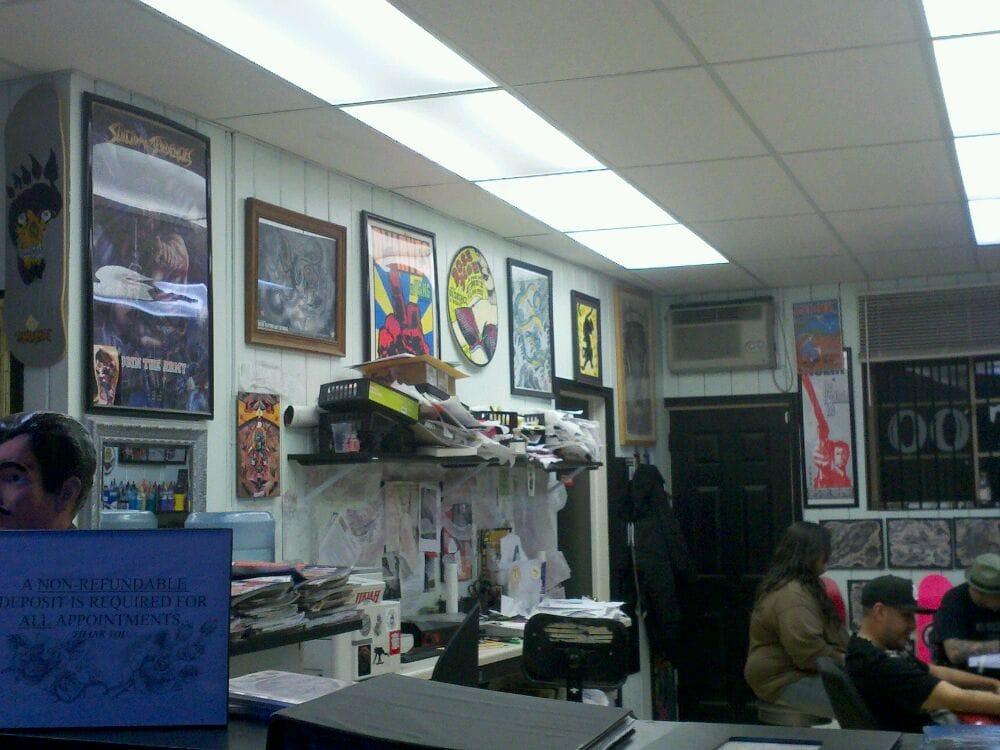 Ukiah tattoo company tattoo 413 s state st ukiah ca for Open tattoo shops near me