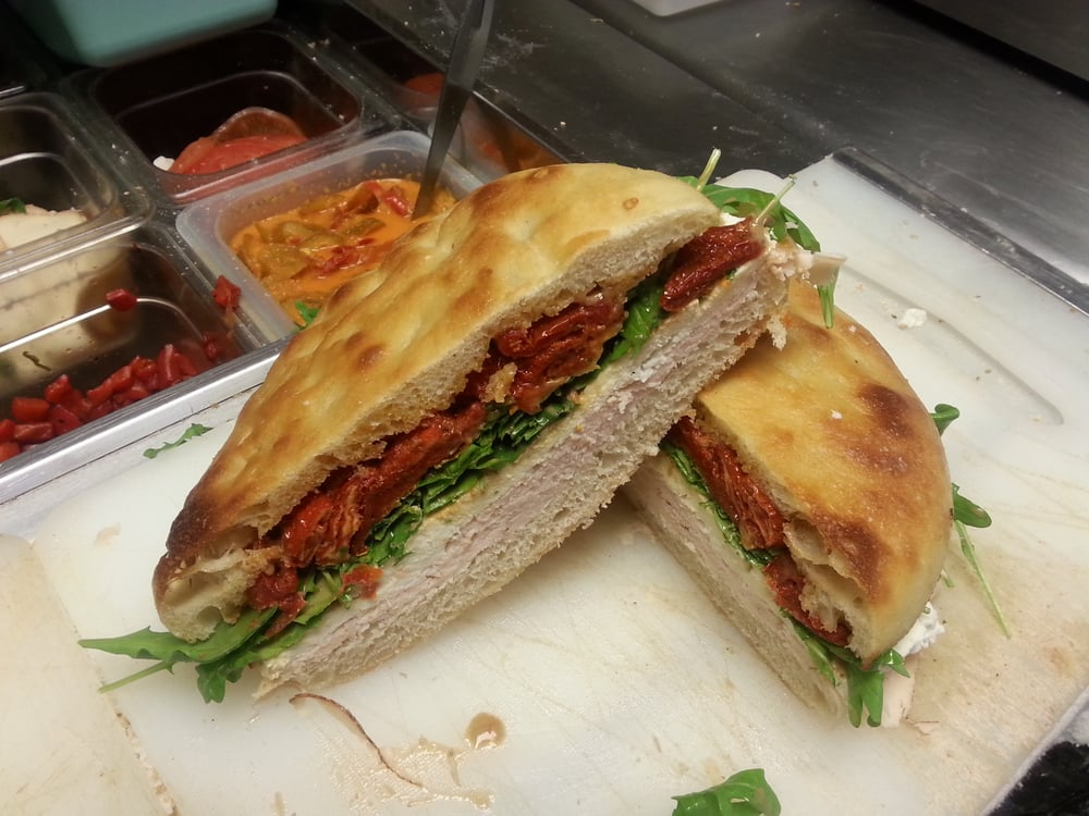 Arugula, Mozzarella, Tomato On Focaccia Recipes — Dishmaps