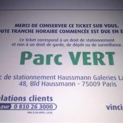 Paris fr stationnement professionnel