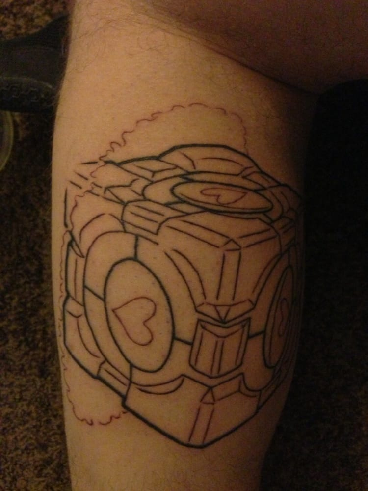 The Outline of my New Tattoo