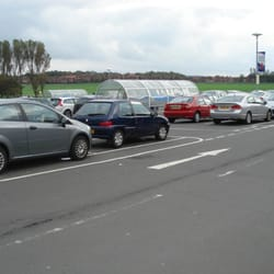 Part of the car park, Tesco Extra, Ayr