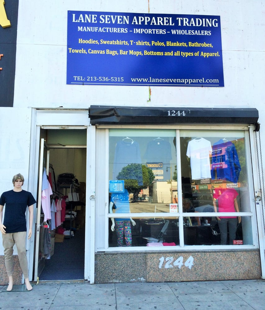 Lane Seven Apparel Trading Wholesale Stores Downtown