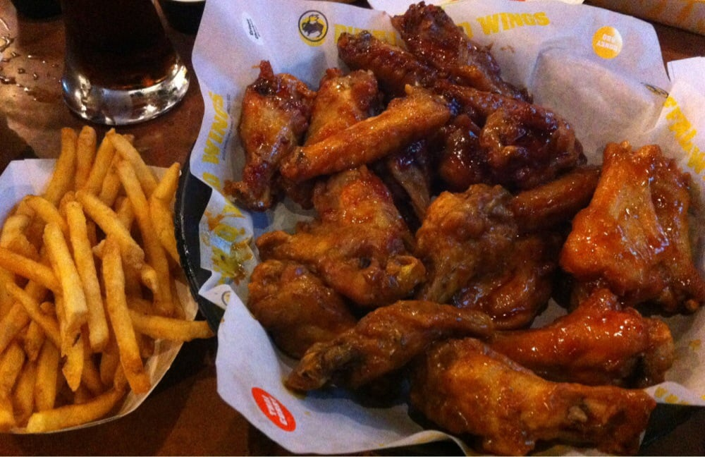 ... Wings (Asian Zing, Honey BBQ, Mango Habanero, Mango Habanero, $20.99