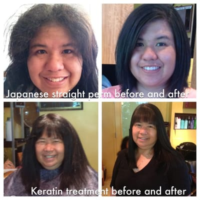 Japanese Straight Perm And Keratin Treatment By Jill Yelp
