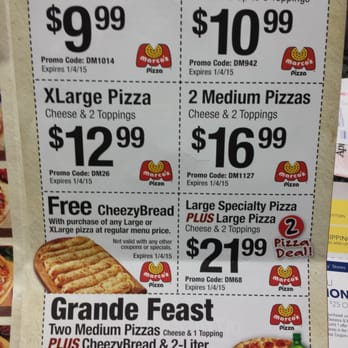 Marco pizza coupons promo codes