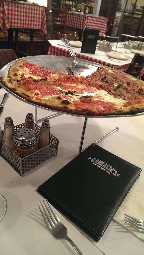 Large Half Sausage Pizza Yelp