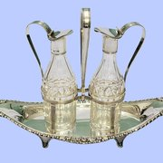 Sterling Silver & Crystal Oil and…