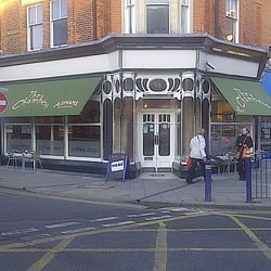 The exterior of The Chambers Coffee Shop on Sandgate rd.