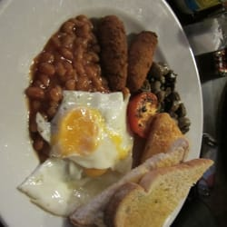 Euston Flyer - Vegi breakfast - London, United Kingdom