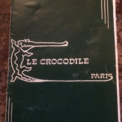 Le Crocodile - Paris, France. The drink bible