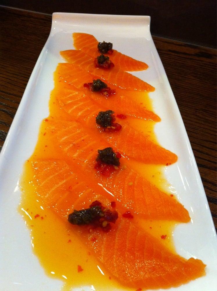 Salmon Carpaccio With Jalapeño