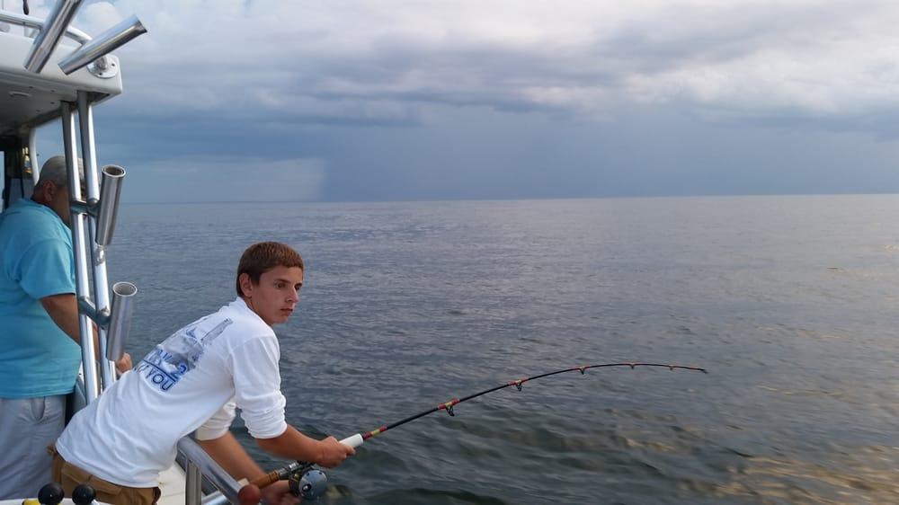 Rod n reel charter fishing chesapeake beach md united for Chesapeake bay charter fishing
