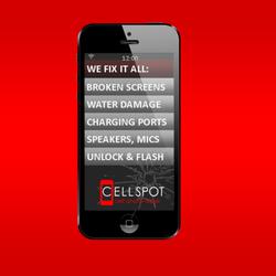 CELLSPOT Cell Phone Aid Repair logo