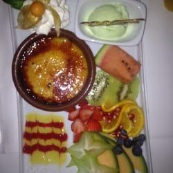 Kleiner Nachtisch. Crema Catalana!