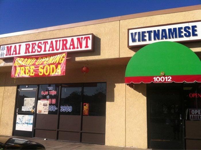 Pho hien mai restaurant closed vietnamese el monte