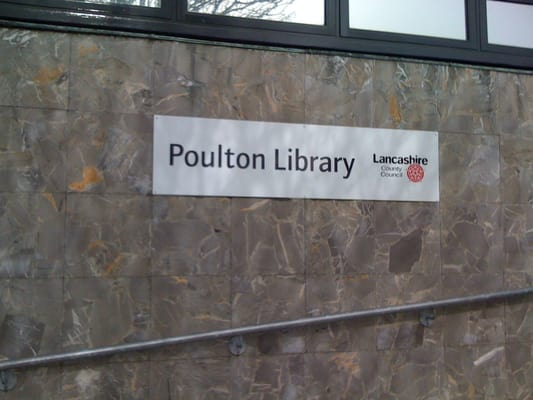 Libraries Poulton Library Lancashire County Council