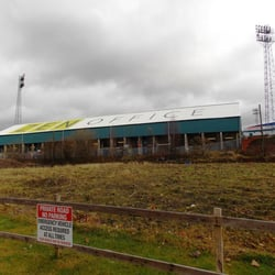 The back side of Boundary Park.