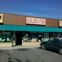 Golden Fish Aquariums logo