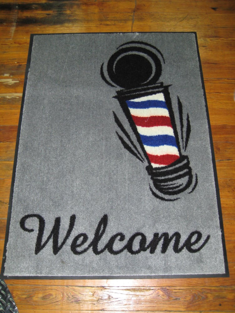 Barber Shop San Antonio : ... - San Antonio, TX, United States. Welcome mats for the barber shop