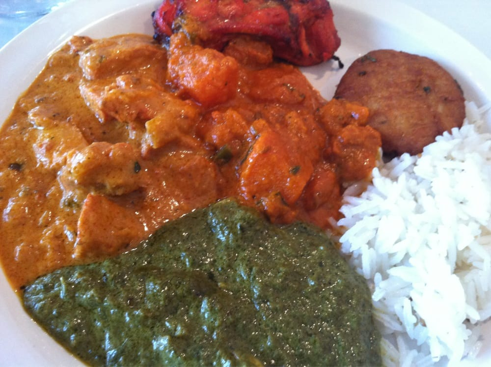 Chicken tandoori vindaloo tikka masala palak paneer for Amber indian cuisine