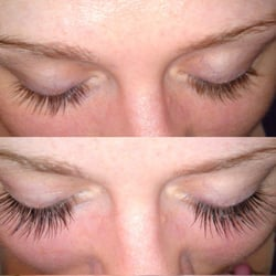Client wanted fuller thicker lashes without looking false