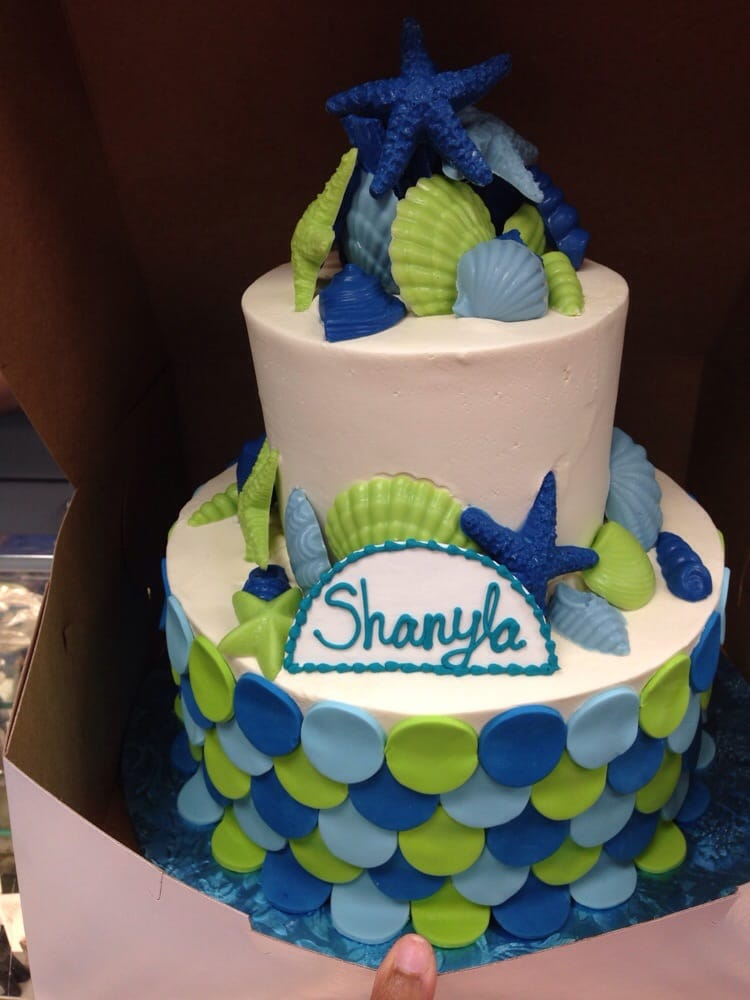 brookline ma united states mermaid themed baby shower cake