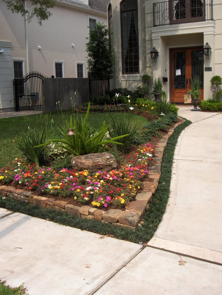 Bayside Landscape Services Inc Landscaping Houston Tx