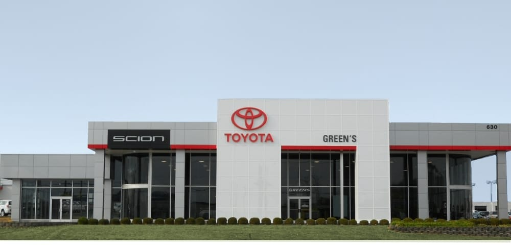 Green S Toyota Of Lexington Auto Repair 630 E New