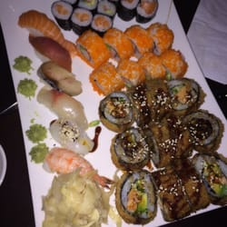 individuelle Sushi platte