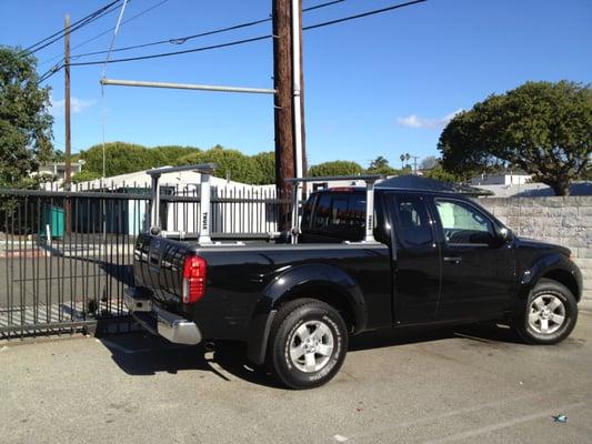 Thule 500 Xsporter Pro Truck Bed Racks On Nissan Frontier