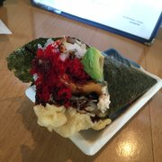 California Roll - San Mateo, CA, États-Unis. Wednesday handroll was really good, must give it a try.