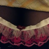 garter made at crafty afternoon tea (2013)