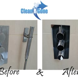 Bathroom cleaning - Before & After