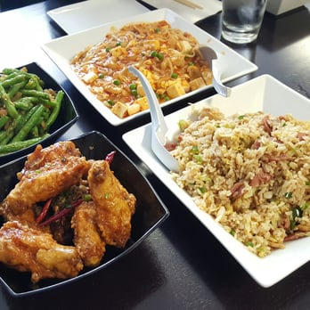 ... , Mao Pao w/ Pork+Noodles, Chipotle Sausage Fried Rice, Chicken Wings