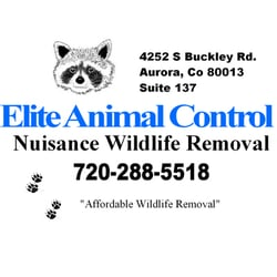 Elite Animal Control LLC logo