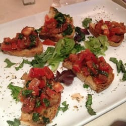 Bruschetta appetizer...