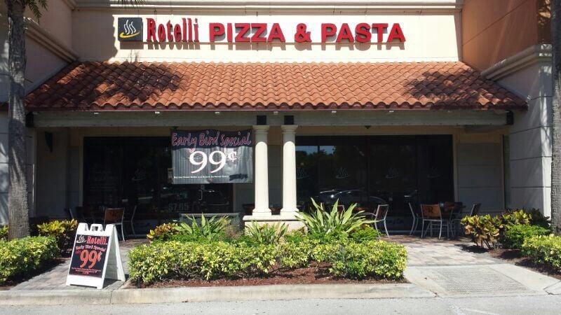 Rotelli Pizza Pasta Delray Beach Fl