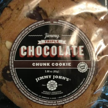 Jimmy John S Chocolate Chunk Cookie Review