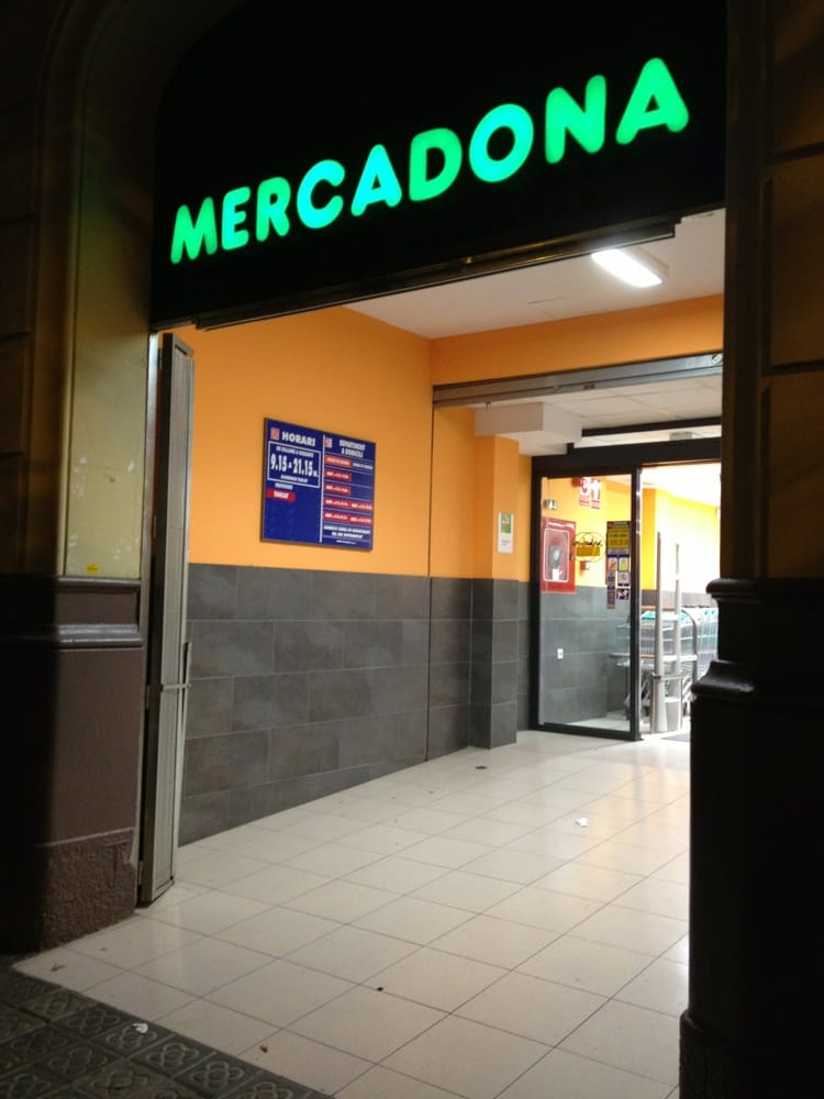 Mercadona supermarch l 39 eixample barcelone for Oficinas mercadona barcelona