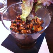 I.c Delicious mushrooms along with the…