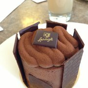 Chocolate mousse cake...very rich and…