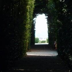 The Aventine Keyhole, Rom, Italy
