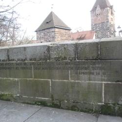 Synagogendenkmal, Nürnberg, Bayern
