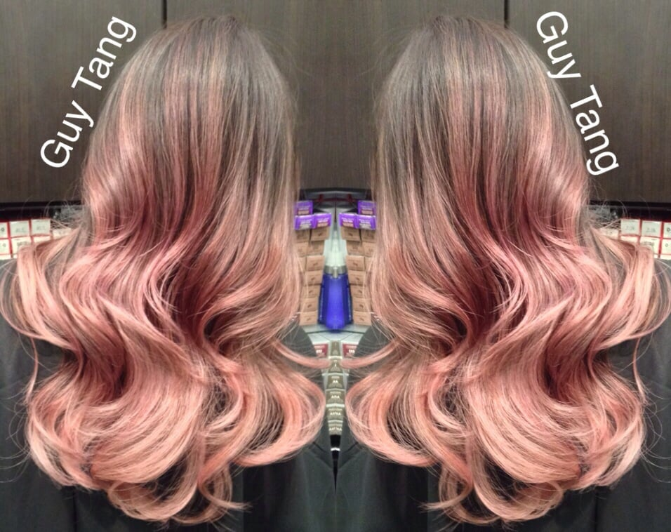 Rose Gold Ombre Hair Guy Tang Guy Tang i Love my Rose Gold